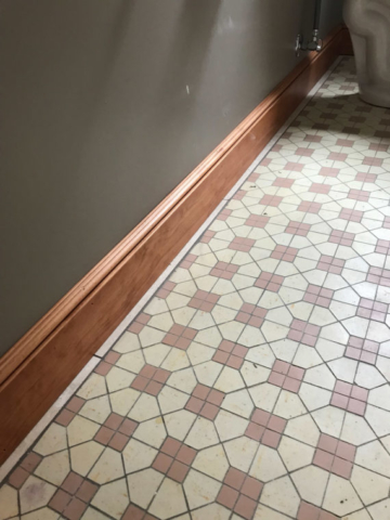 Custom Molding and Tile Refinishing