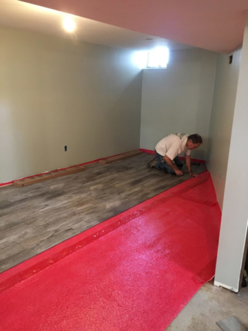 Basement Flooring and Finishes