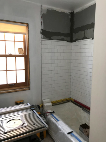 Main Floor Bathroom Tile