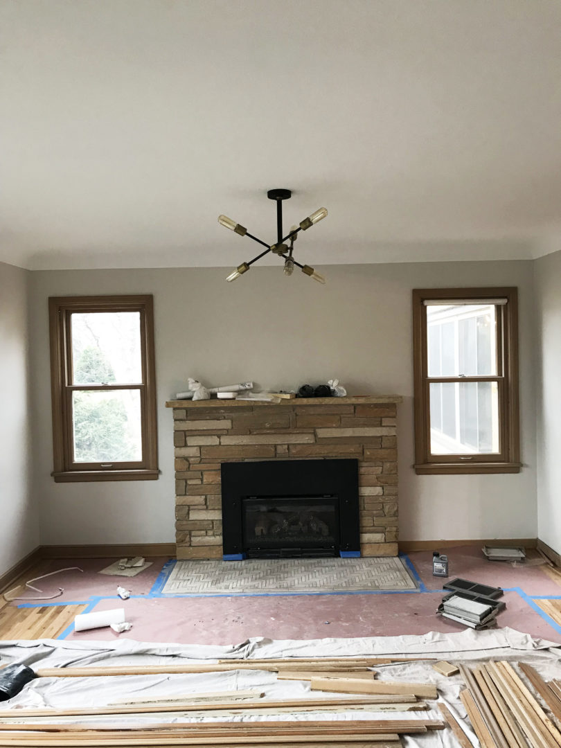 6628 Oliver Ave Richfield fireplace refurbished and herringbone tile_web