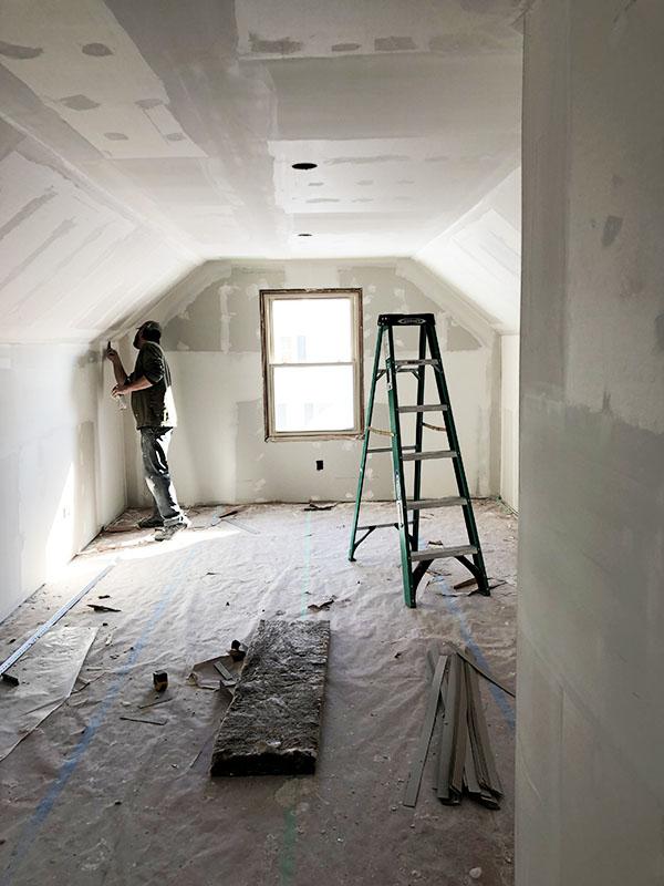 6628 Oliver Ave Richfield mudding and sheetrock master bedroom_web