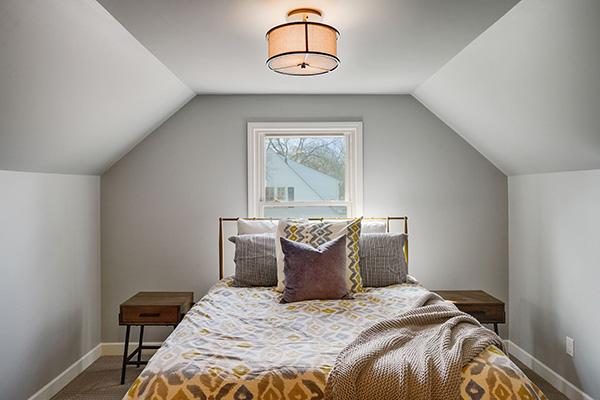 6628 Oliver Ave So Richfield MN Staging Master Bedroom After Skye McLoughlin