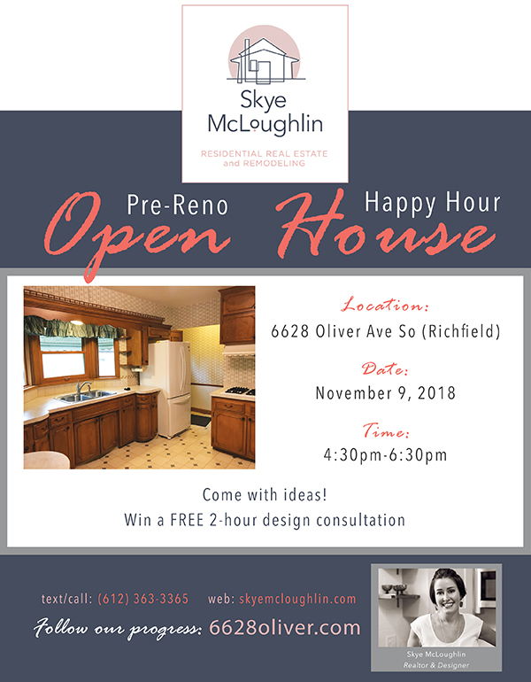 6628 Oliver Ave So Richfield MN Open House